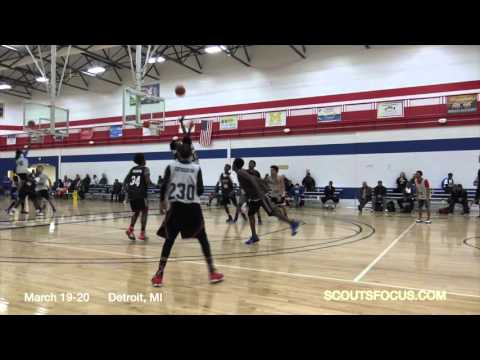 TM3 38 Nic'Quan Webb 5'7 140 Jalen Rose Leadership Academy MI 2019          Highlights