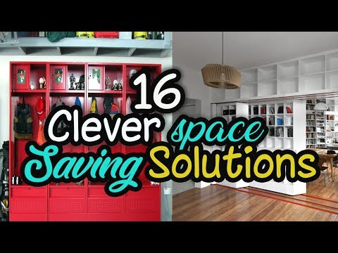 ???? 16 Clever Space Saving Solutions And Storage Ideas ???? Home Decor Ideas
