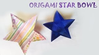 Origami Easy - Origami Star Bowl