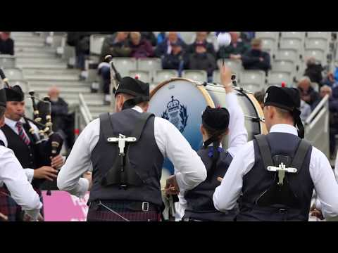 World Pipe Band Championships 2018 - Grade 1 Final - MSR - Police Scotland Fife