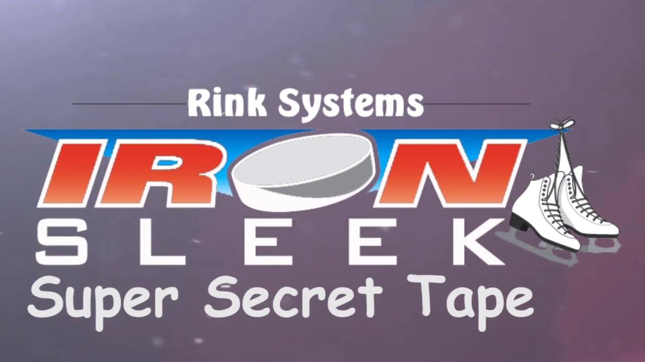 backyard ice rink liner super repair tape youtube