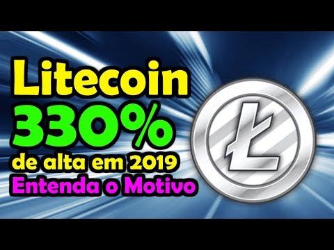 Litecoin Subiu 330% Este Ano - 3X Mais que o Bitcoin - Por Que?
