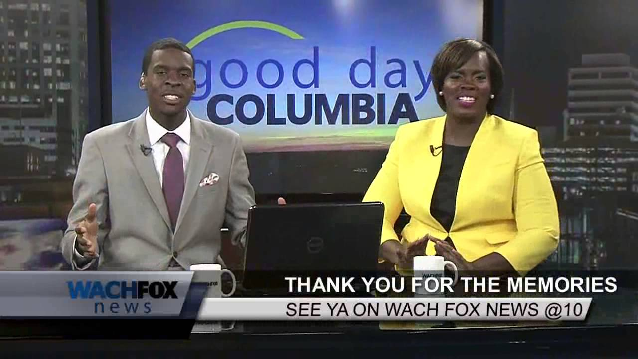 Janet Parker says Good Bye to Good Day Columbia - YouTube