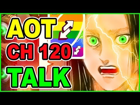 🦊 Can Eren Escape Titan Realm Alive? | Attack On Titan 120 Discussion