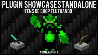 [Tutorial]ShowCaseStandalone - Itens de Shop Flutuando Minecraft