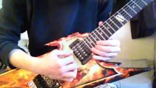 Impellitteri Shed Your Blood solo cover (^o^)