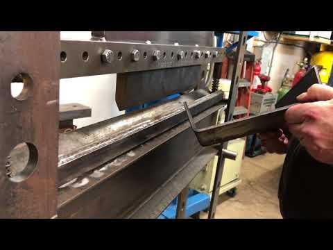 DIY Shop Press.  Almost done.