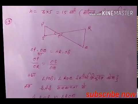 rajastnan board mathematics paper solution class 10  for Q11 to 19