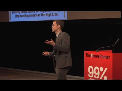 Robert Hammond at The 99% Conference
