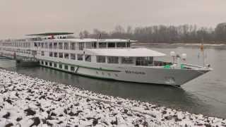 "Kreuzfahrtschiff MS ""Beethoven"" in Seyer"