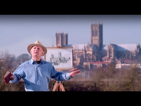 Lincoln Cathedral history short version | Heritage artist uk history tour