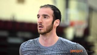 Kosta Koufos - Off-Season NBA Workout with David Lane of DCL Training