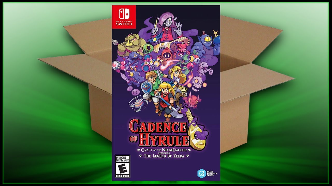 Cadence Of Hyrule Switch Unboxing Breakdown Demo Youtube