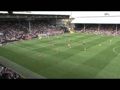 Fulham 1-2 Parma Highlights