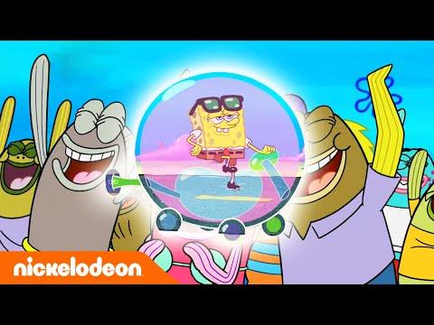 SpongeBob SquarePants | Bubble Cars | Nickelodeon Bahasa