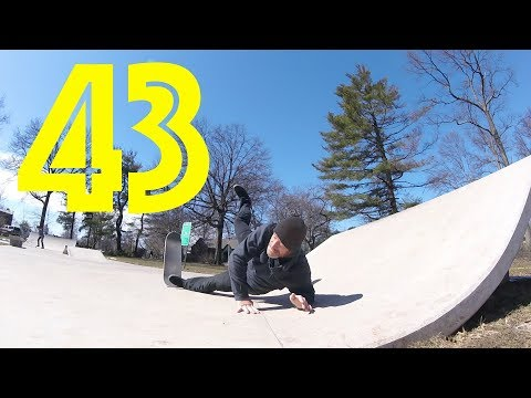 Birthday Blues - 43 Year Old Skate Every Day #349