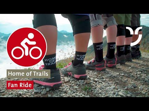 Fan Ride mit Danny MacAskill & Claudio Caluori im Home of Trails