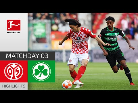 Mainz Greuther Furth Goals And Highlights