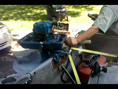 1959 Golden Jubilee Evinrude 5 5 hp outboard motor tuning