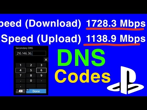 PS4 FASTEST DNS SERVERS / 4X Speed WiFi And LAN CABLE