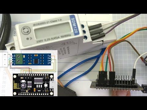 BitBastelei #321 - WLAN-Stromzähler Mit Modbus, ESP8266/Arduino Und SDM120