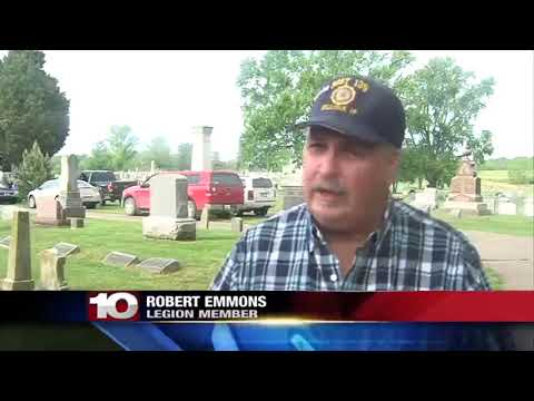 Local American Legion Places Flags On Over 1,000 Graves Ahead Of Memorial Day
