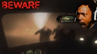 LOOK IN THE REAR VIEW MIRROR.. OR ELSE | Beware (Horror Game)