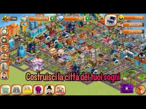 Village city island sim build virtual town game app for Lista punch per la costruzione di nuove abitazioni