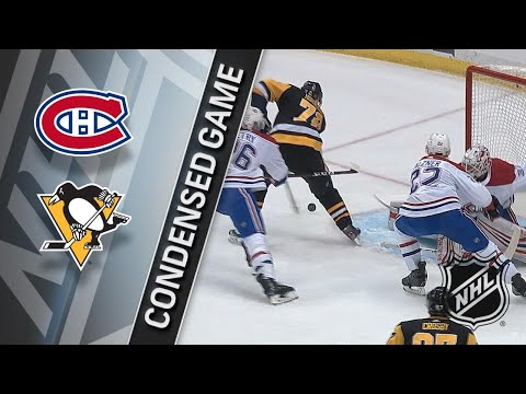 03/31/18 Condensed Game: Canadiens @ Penguins