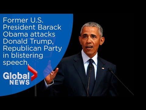 Barack Obama FULL Speech Slamming Donald Trump And GOP Ahead Of Midterms