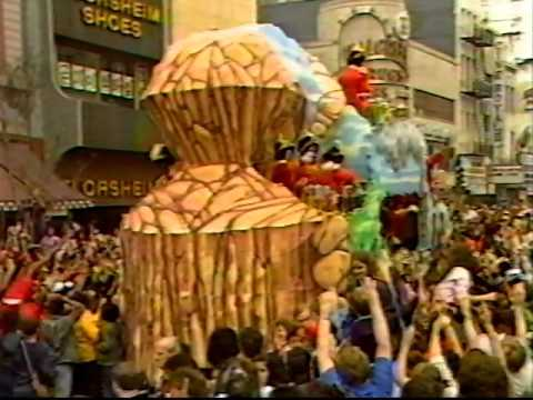Mardi Gras Day New Orleans 1985 Part-1 TV News