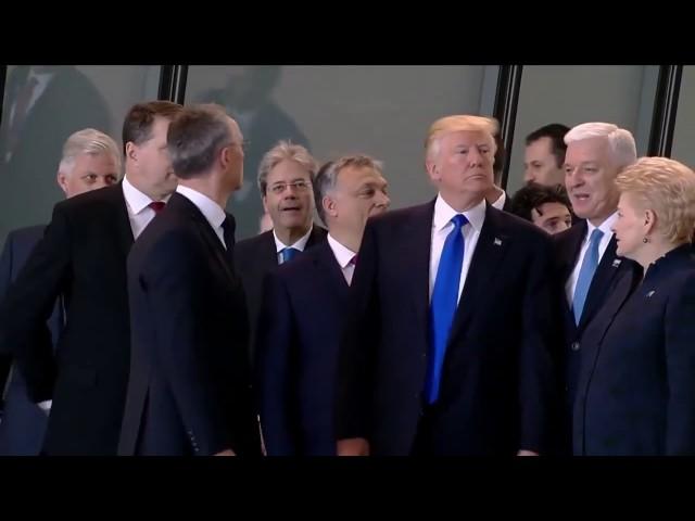 Donald Trump pushes Montenegro Prime Minister Dusko Markovic