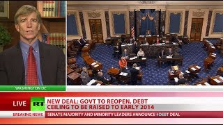Deal! Senate agrees on debt ceiling to end shutdown