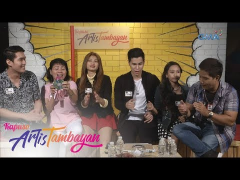 ArtisTambayan: Nanay Esterlina hindi nagpaawat sa kantahan with the bagets