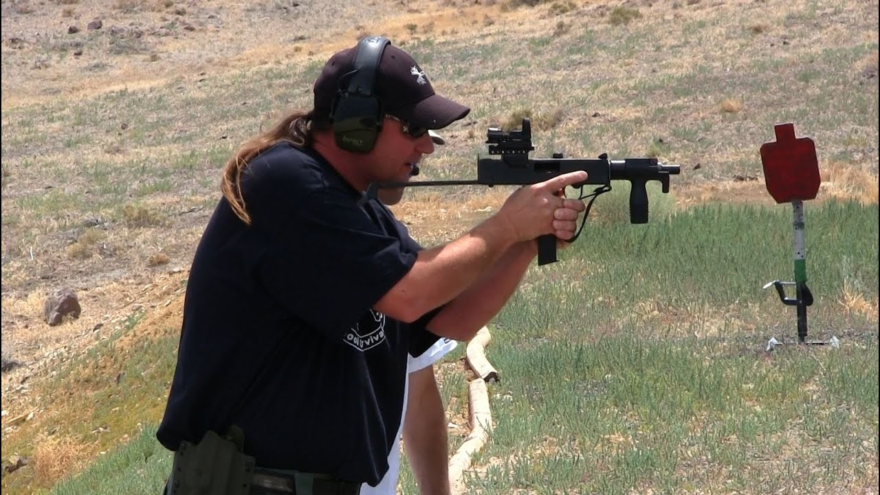 MAC 11 Machine Gun - YouTube