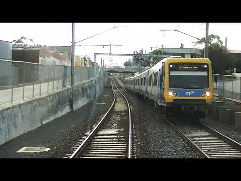 Driver's View   Belgrave Line Melbourne