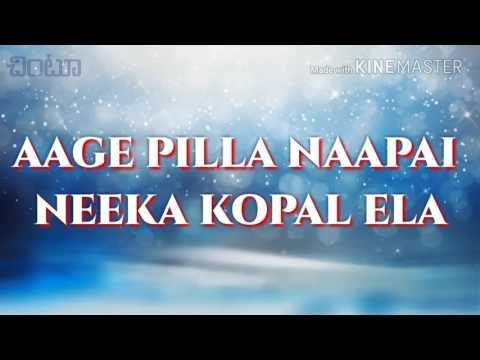 Muripichudake (aage pilla) full video with lyrics(