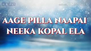 Muripichudake (aage pilla) full video with lyrics(