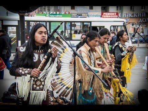 """INCA SOL & LENIN Y ENRIQUE / """"Art of Wind"""" (Flor Aymara)"""