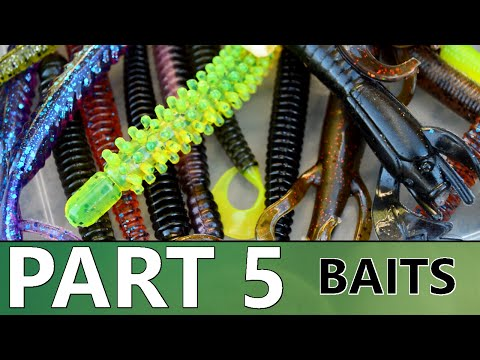 Beginner's Guide To BASS FISHING - Part 5 - Baits And Tackle