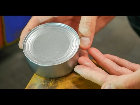 Episode 1: How to open a can without a can opener