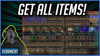 TERRARIA ALL ITEMS MAP 2020 -  HOW TO GET ALL ITEMS IN TERRARIA - ALL ITEM WORLD DOWNLOAD!