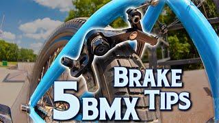 5 BMX Brake Tİps For Better Brakes