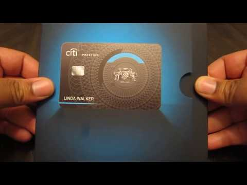 Citi Prestige Metal Card Unboxing and Review