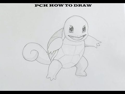 How to draw pokemon Squirrel   PCH - YouTube