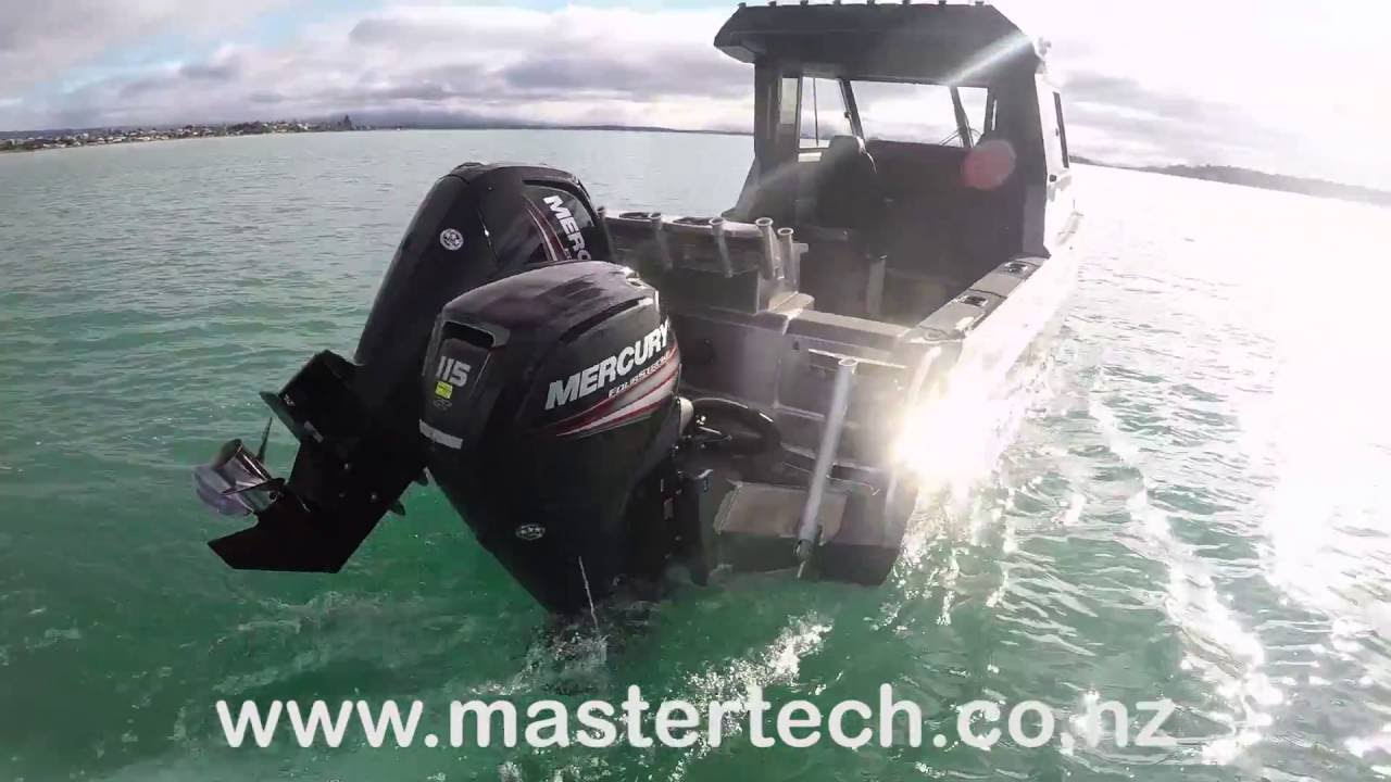 2016 mercury 115hp command thrust fourstroke