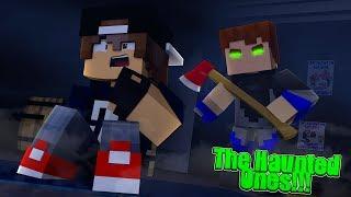 Minecraft Haunted Ones - SCUBA STEVE TARGETS JACK AS HIS VICTIM!!