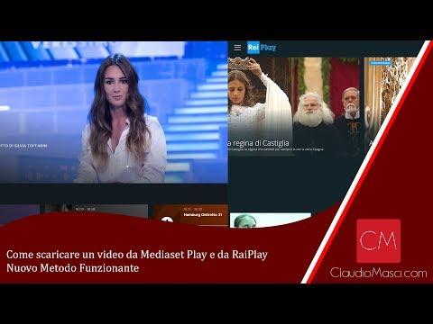 Come scaricare un video da Mediaset Play e da RaiPlay - Nuovo Metodo Funzionante