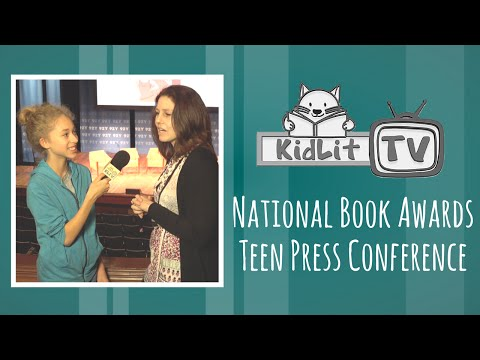 National Book Awards Teen Press Conference