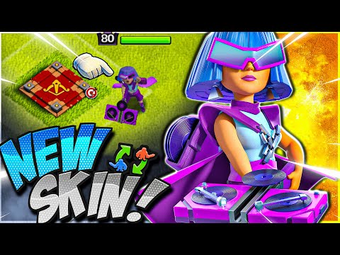 NEW Party Queen Skin Coming SOON in Clash of Clans! #Shorts